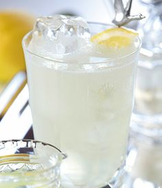Ingredients  GREY GOOSE® Original 2 Parts Fresh Squeezed Lemon Juice 1 Part Sugar 1 tsp Soda Water 2 ½ Parts  Preparation  Add GREY GOOSE vodka and lemon juice to a rocks glass. Add cubed ice and stir. Add sugar to taste, stirring to dissolve. Top with Soda water. Garnish with a GREY GOOSE stirrer.