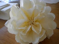 DIY Paper Flower Poofs | The Budget Savvy Bride