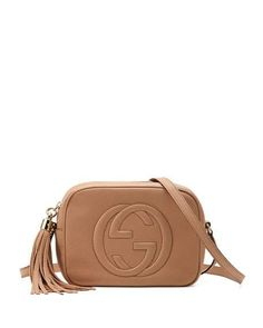 Get free shipping on Gucci Soho Small Shoulder Bag, Beige at Neiman Marcus. Shop the latest luxury fashions from top designers.