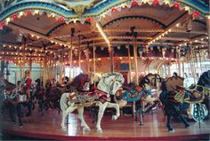 PTC is a great horse carver and has great rounding boards. PTC carousels are commonly found in the US at King's island, the Palisades mall in NYC and one at Six Flags Over Georgia.
