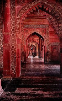India Incredible — Red Temple in Ajmer, India