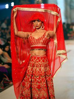 30 Best Wedding Outfits from Pakistani Bridal Couture Week 2014 - TheBigFatIndianWedding.com