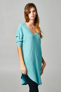 Casual Madeline Tunic in Greek