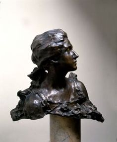 Troubetzkoy, Paolo, Ritratto di Amelie Louise Rives, 1895, inv. 9139