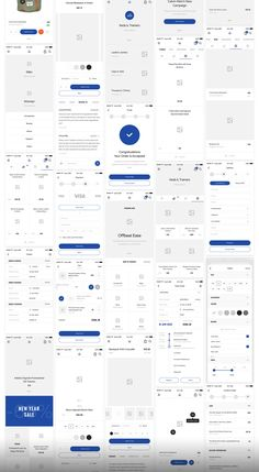 Big UI and Wireframe Kit for mobile projects. layouts in 8 categories helps speed up your UI/UX workflow. Each layouts are carefully crafted and based on modern design trends. Android App Design, Ios App Design, Iphone App Design, Android Ui, App Design Inspiration, Graphisches Design, Design Trends, Modern Design, Flat Design