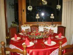 tavola in rosso