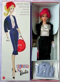 Barbie Commuter Set Repro NIB