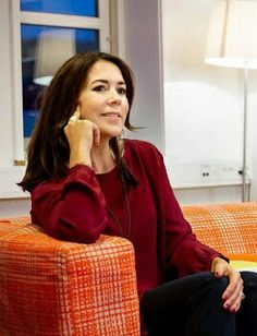 Crown Princess Mary at Slagelse Red Cross Center Feb.1.2016
