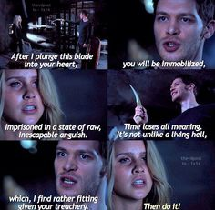 Hate this part how can he be so cruel yet rebekah so brave and strong