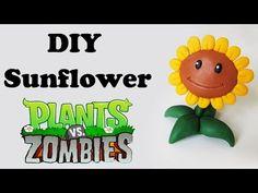 DIY: Como Fazer Sunflower de PLANTS vs. ZOMBIES | Ideias Personalizadas - DIY - YouTube
