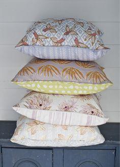 Lulie Wallace Textiles - Pillows!
