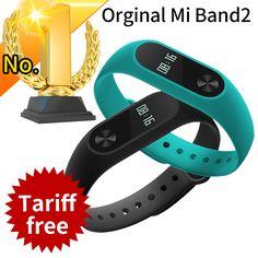 RU In Stock Original Xiaomi Mi Band 2 Miband Band2 Wristband Bracelet Smart Heart Rate Fitness Tracker Touchpad OLED Strap xiomi