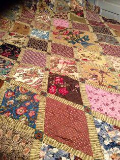 Jane Austen quilt Di Ford pattern