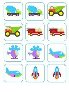 該okul_öncesi_taşıtlar_hafıza_kart Preschool Learning, Toddler Activities, Preschool Activities, Teaching Kids, Numbers Preschool, Preschool Printables, Transportation Theme Preschool, Grande Section, Teacher Tools