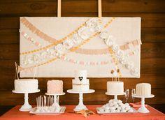 Sugar Bee Sweets Bakery - Wedding Sweets Table - Photo via Project Wedding