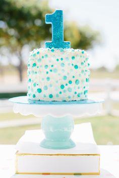 Project Nursery - First Birthday Cake