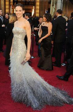 Hillary Swank dress