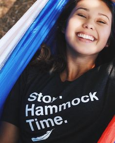 Stop. Hammock Time. Get one today for only $20! #treklightgear #stophammocktime :@katiekimiko & @enh.photo.