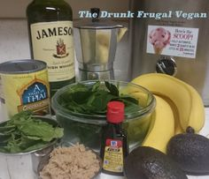 Green Ice Cream for St Paddy's Day | The Drunk Frugal Vegan