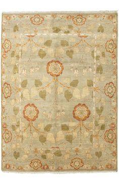 Jaipur Rugs Opus OP27 Sage Green Rug | Country & Floral Rugs