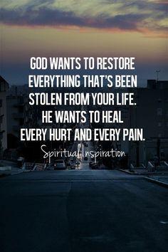 Healing & Restoration #TheTravelingCupcake