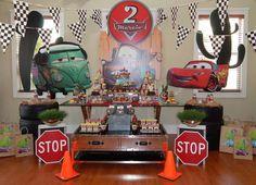 Disney Pixar Car Party | CatchMyParty.com