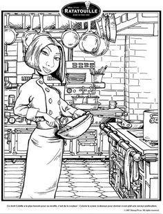 Les 102 meilleures images du tableau ratatouille disney sur pinterest en 2018 coloring pages - Dessin anime ratatouille gratuit ...