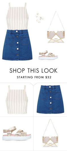 """casual"" by pamity01 ❤ liked on Polyvore featuring Topshop, Miss Selfridge, KG Kurt Geiger and River Island"