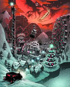 Horror Aficionados - The Audio Zone: October Group Listen Showing of 39 Manx, Creepy, Retro Vintage, Nos4a2, Merry Christmas, Dark Christmas, Cartoon Monsters, Cool Posters, Months In A Year