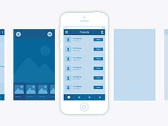 #wireframe #appdesign #Inspiration #Mobile