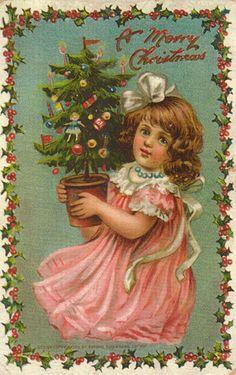 Frances Isabelle (Lockwood) Brundage (1854–1937)  —  Merry Christmas Love   (317×504)