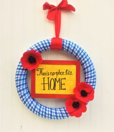 Wizard of Oz Wreath - There's No Place Like Home