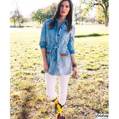 Indian Summer Jacket | Double D Ranch | SPRING 2013 Collection | Style C2196 | Pictured in denim | Color denim | Size XS,S,M, L,XL,1X,2X | Content: 100% Cotton | $298 | www.shopcelebrity.net | #C2196 #ddr #doubledranch #doubledranchwear #ddrjacket #doubledranchjacket #doubledranchwearjacket  #indian #indiansummer #indiansummerjacket