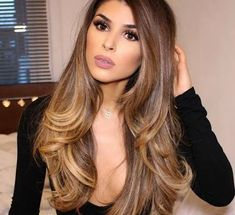 170 sеxу light brown hair color ideas page 63 Light Brown Hair, Dark Brown, Brown Hair Colors, Brunette Hair, Balyage Brunette, Ombre Hair, Hair Dye, Gorgeous Hair, Pretty Hairstyles