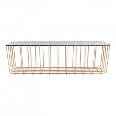 Blu Dot Scamp Table - Copper/Smoked Glass $599