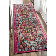 FREE SHIPPING! Shop AllModern for nuLOOM Corbett Pink Area Rug - Great Deals on all  products with the best selection to choose from!