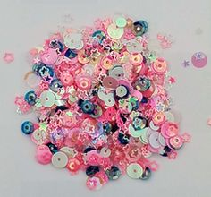 Pink Dreams Sequin Mix -  Shaker Card Fillers - NEW!