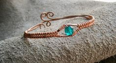 Copper BraceletBangle BraceletAdjustable by ElvenAdornments, $13.50