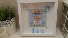 Baby boy picture gift