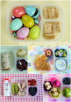 sweet and lovely crafts: Easter lunches
