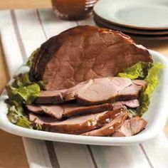 Contest-Winning Teriyaki Pork Roast Recipe from Taste of Home -- shared by Debbie Dunaway of Kettering, Ohio