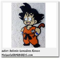 Dragon Ball Hama beads by Antonio Gonzalvez Alonso