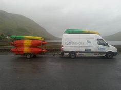 The totalexperience.ie Equipment Mobile Can Be Found At All The Big Adventure Races In Ireland Where Brian Supplies Kayaks, Mountain Bikes And Other Equipment To The Racers!