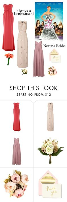"""""""Never a BRIDE"""" by kotnourka ❤ liked on Polyvore featuring Boutique Moschino, Phase Eight and Kate Spade"""