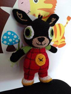 Stuffed Animals, Dinosaur Stuffed Animal, Bunny, Cartoons, Toys, Crochet, Handmade, Amigurumi, Manualidades