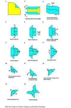 59 ideas origami art diy paper butterflies for 2019 Origami Tutorial, Gato Origami, Instruções Origami, Money Origami, Origami Dragon, Origami Bookmark, Origami Jewelry, Origami Butterfly, Paper Crafts Origami