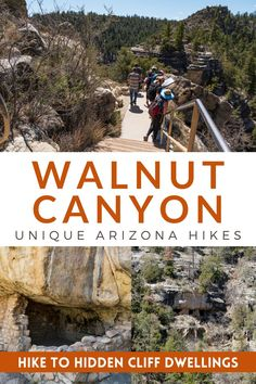 Visit Walnut Canyon National Monument and walk among ancient Sinagua cliff dwellings on this amazing hidden gem Arizona hike. **** Travels and Curiosities is a Travel and Photography Blog Featuring Unique Travel Destinations, Hidden Gems, Unique Camping Destinations and More! **** walnut canyon az | best hikes in arizona | arizona cliff dwellings | unique places in arizona | unique places to visit in arizona | arizona cool places | cool things to do in arizona Arizona Travel, Arizona Usa, Usa Travel, Solo Travel, Travel Ideas, Travel Inspiration, Southwest Usa, Us Travel Destinations, Us National Parks