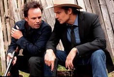 Boyd Crowder and Raylan Givens - Justified
