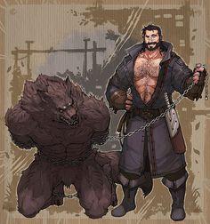 Arte Furry, Furry Art, Fantasy Character Design, Character Art, Rendering Art, Werewolf Art, Furry Wolf, Furry Comic, Mythical Creatures Art