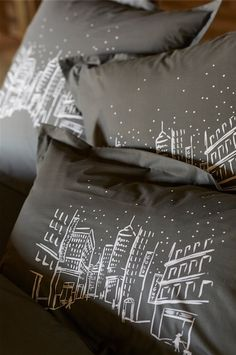 Collection Upper East Side par Sylvie Thiriez - New York-inspired bedlinen collection by Sylvie Thiriez